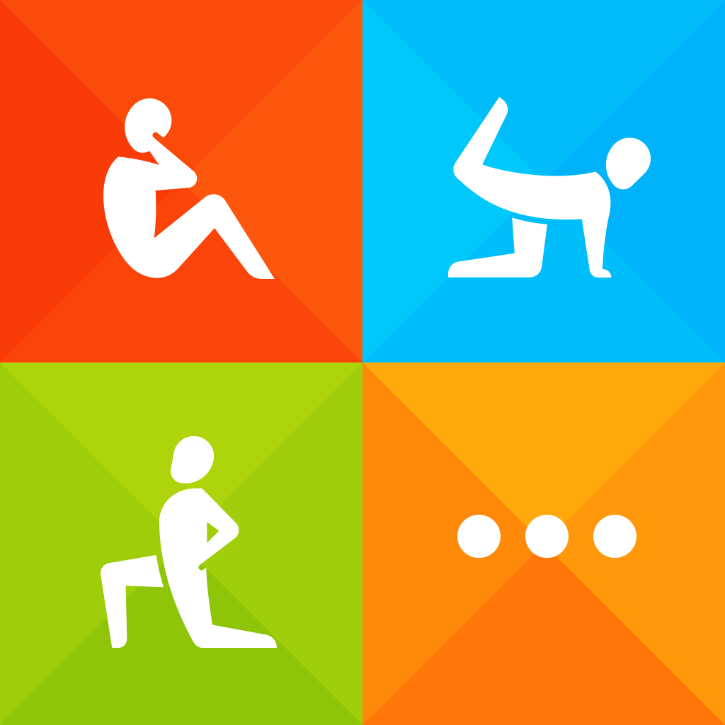 Instant Fitness : 600+ exercises, 100+ workouts, home, exercise workout trainer, 7 minute workout, on-the-go personal mobile fitness trainer by Fitness Buddy and Instant Heart Rate